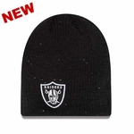 Oakland Raiders New Era Womens Glistener Knit