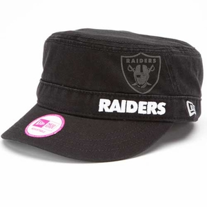 Oakland Raiders New Era Womens Military Goal-2-Go Hat - Click to enlarge