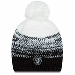 Oakland Raiders New Era Womens Polar Dust Knit