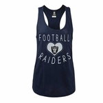 Oakland Raiders New Era Womens Racer Tank