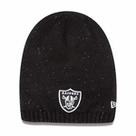 Oakland Raiders New Era Womens Slouch Shine Knit