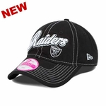 Oakland Raiders New Era Womens Sweet Script Cap