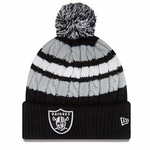 Oakland Raiders New Era Womens Wintery Warm Knit