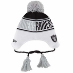 Oakland Raiders New Era Word Surge Knit