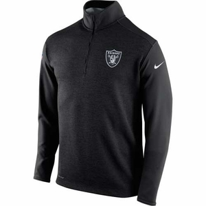 Oakland Raiders Nike 1/2 Zip Top - Click to enlarge