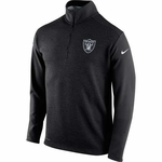 Oakland Raiders Nike 1/2 Zip Top