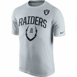 Oakland Raiders Nike 2015 Legend Icon Grey Tee