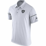 Oakland Raiders Nike 2016 Team Issue White Polo