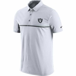 Oakland Raiders Nike 2016 White Elite Polo