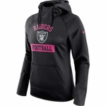 Oakland Raiders Nike 2016 Women's Breast Cancer Awareness Hood