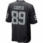Oakland Raiders Nike Amari Cooper Black Game Jersey