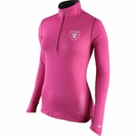 Oakland Raiders Nike Breast Cancer Awareness Element Top