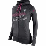 Oakland Raiders Nike Breast Cancer Awareness KO Hood