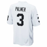 Oakland Raiders Nike Carson Palmer White Game Jersey