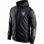 Oakland Raiders Nike Circuit Full Zip Hood