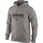 Oakland Raiders Nike Classic Team Issue Hood
