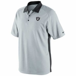 Oakland Raiders Nike Coaches 2 Polo Grey