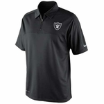 Oakland Raiders Nike Conference Polo Black