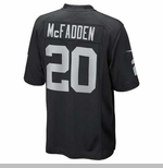 Oakland Raiders Nike Darren McFadden Black Game Jersey