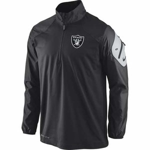 Oakland Raiders Nike Defender Coaches Jacket - Click to enlarge