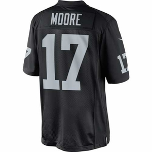 Oakland Raiders Nike Denarius Moore Limited Jersey - Click to enlarge