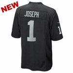Oakland Raiders Nike Karl Joseph Black Game Jersey
