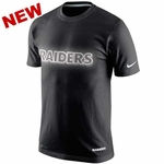 Oakland Raiders Nike Dri-Fit Cotton Glow Tee