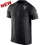 Oakland Raiders Nike Dri Fit Touch Black Short Sleeve Tee