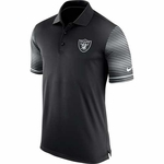 Oakland Raiders Nike Early Season Black Polo