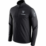 Oakland Raiders Nike Elite Coaches Half Zip