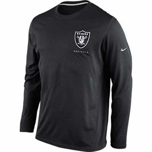 Oakland Raiders Nike Elite Conference Long Sleeve Tee - Click to enlarge