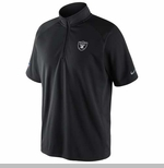 Oakland Raiders Nike Elite Mock Black