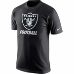 Oakland Raiders Nike Facility Black Tee