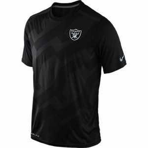 Oakland Raiders Nike FB Hypervent Short Sleeve Top - Click to enlarge