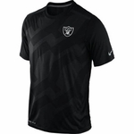 Oakland Raiders Nike FB Hypervent Short Sleeve Top