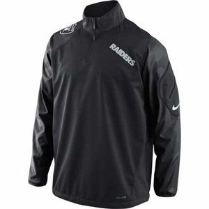 Oakland Raiders Nike Fly Rush 1/2 Zip - Click to enlarge
