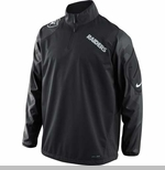 Oakland Raiders Nike Fly Rush 1/2 Zip