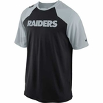 Oakland Raiders Nike Fly Slant Top