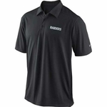 Oakland Raiders Nike Football Coaches Black Polo