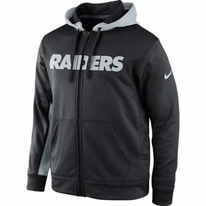 Oakland Raiders Nike Football KO Full Zip Fleece - Click to enlarge