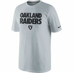 Oakland Raiders Nike Foundation Tee