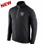 Oakland Raiders Nike Game day Half Zip Knit Top