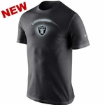 Oakland Raiders Nike Glow Football Tee