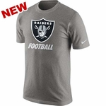 Oakland Raiders Nike Grey Facility Tee