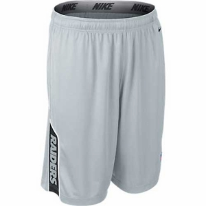 Oakland Raiders Nike Grey Player Short - Click to enlarge