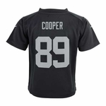 Oakland Raiders Nike Infant Amari Cooper Black Game Jersey