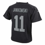 Oakland Raiders Nike Infant Sebastian Janikowski Black Game Jersey