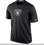 Oakland Raiders Nike Just Do It Black Tee