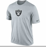 Oakland Raiders Nike Just Do It Grey Tee