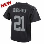 Oakland Raiders Nike Juvenile Maurice Jones-Drew Black Game Jersey